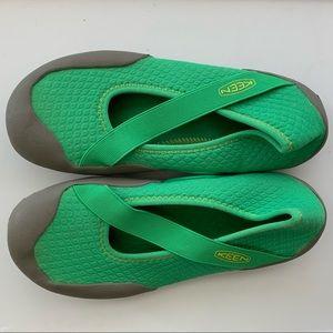 Keen Roatan neoprene green water shoes